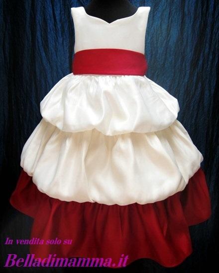 Vestito Per Damigella Bambina