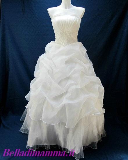 online store a2336 eb46c Abito Da Sposa Stile Principessa [801AV] : listino del 21/09 ...