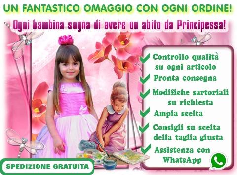 0e54507fbf07 BellaDiMamma.it Vestiti Da Cerimonia Per Bambine